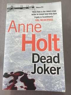 🚚 Cheap book: Dark Joker by Anne Holt