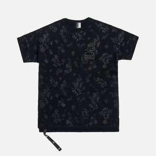 Kith X Mastermind Floral Tee Black - M
