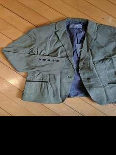 BNWT Zadig army green blazer XS