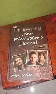 Supernatural John Winchester's Journal by Alex Irvine