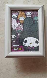 My Melody puzzle with frame