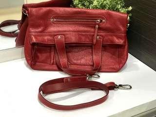 LONGCHAMP authentic full leather