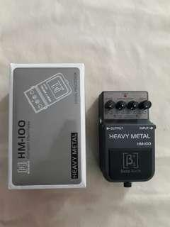 Beta aivin heavy metal guitar effect pedal
