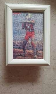 Ultraman puzzle with frame