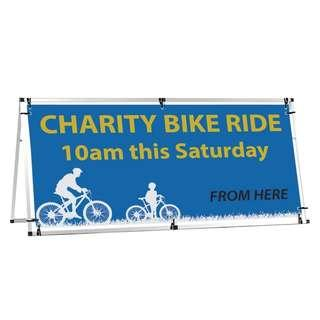 7FT X 3FT ALUMINUM TYPE OUTDOOR A FRAME BOARD