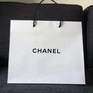 Chanel Authentic Paper Bag