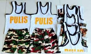 Pulis terno (6 pairs)