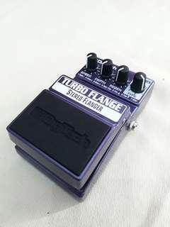 Digitech turbo flanger stereo flanger guitar effect pedal