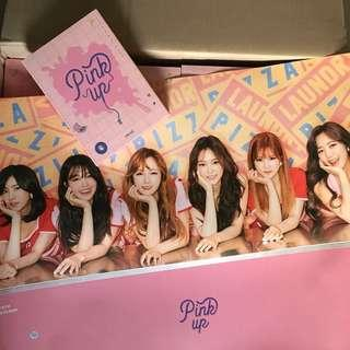 [FINAL CLERANCE] APINK PINK UP POSTER