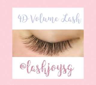 4D Volume Eyelash Extensions