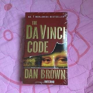 The DaVinci code book by Dan Brown