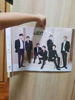 🚚 got7 poster