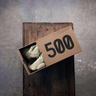 """Adidas YEEZY 500 """"SuperMoon"""" Original!"""