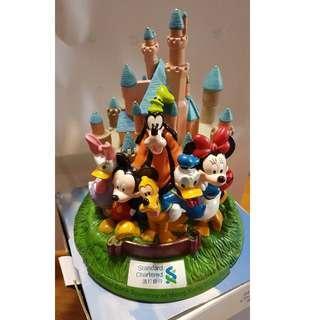 迪士尼城堡錢箱 Disneyland Castle Moneybank (with Box, 90% new)