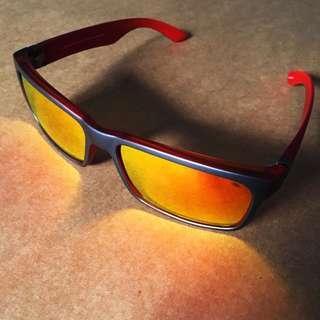 Original Spyder Nixon 3 Orange Sunglasses