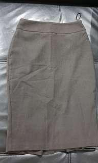 Portmans Black Pleated Skirt