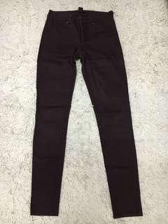 H&M Pants in Maroon Purple size XS