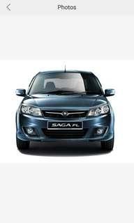 Proton saga FLX 1.3 Auto for Rent