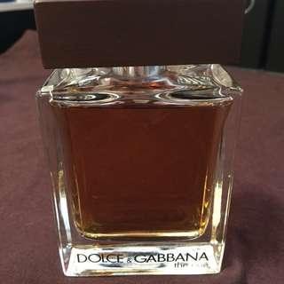 二手正貨 Dolce & Gabbana the one after shave lotion