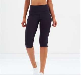 Adidas This High Rise Capri Workout Tights Navy