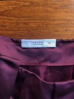 🚚 Prada silk skirt