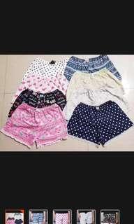 Onhand! Sleepwear shorts
