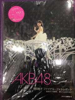 🚚 Akb48 前田敦子 卒業演唱會寫真(附送小禮物如圖)