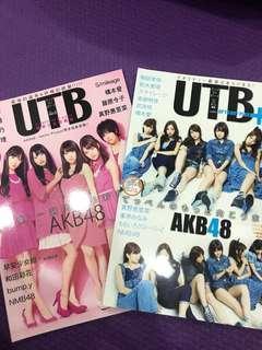 🚚 Akb48 UTB 雜誌2本