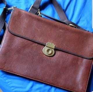 FOSSIL Leather Bag 100% ORIGINAL