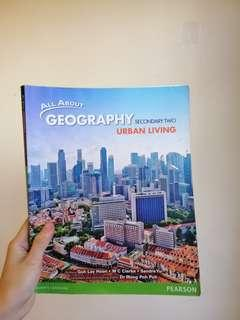 🚚 All about Geography Secondary Two textbook: Urban Living