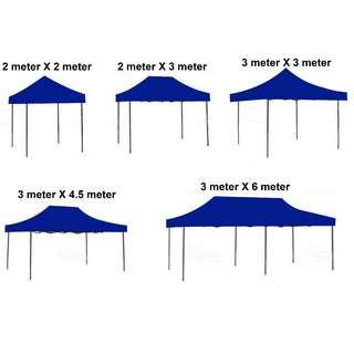 3M X 3M HEAVY DUTY POWDER COATED TENT WITH WATER PROOF CANOPY