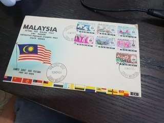 🚚 Malaysia First Day Cover 1965