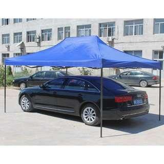 3M X 4.5M HEAVY DUTY POWDER COATED TENT WITH WATER PROOF CANOPY
