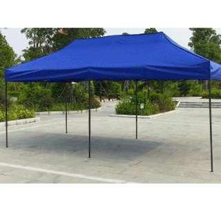 3M X 6M HEAVY DUTY POWDER COATED TENT WITH WATER PROOF CANOPY
