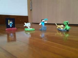 Minecraft Minifigures