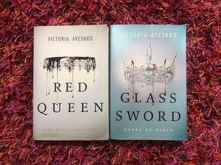 Red Queen & Glass Sword by Victoria Aveyard