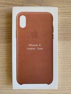 iPhone X Leather Case Original