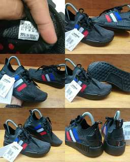 a212c699a ADIDAS NMD R1 PK PRIMEKNIT CORE BLACK FRANCE ART BB2952 ORIGINAL MADE IN  VIETNAM (Replace