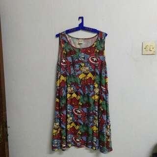 Marvel Comic Dress #CNY2019
