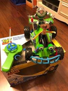 Toy story controlled car