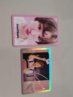 🚚 Twice Signal Photocards holo x pink