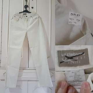 White Mom Jeans Liz Claiborne
