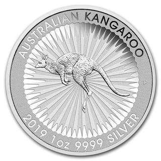 🚚 Perth Mint Silver Kangaroo