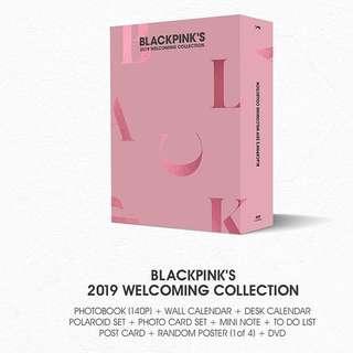 BLACK PINK SEASON GREETINGS 2019