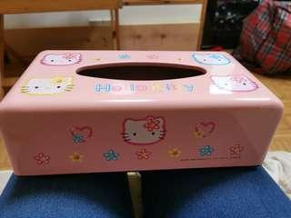 Hello Kitty 紙巾盒