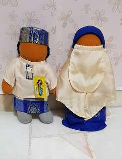 FREE DELIVERY BN 2PC HIJRADOLL BOY AND GIRL