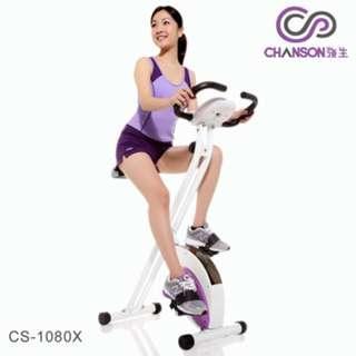 【CHANSON強生】 樂活有氧健身車 CS-1080X