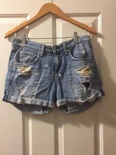 Rag & Bone Boyfriend Shorts- 26
