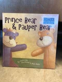 🚚 Children's story book - Prince Bear & Pauper Bear