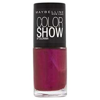 Maybelline New York Color Show Nail Lacquer 7ml Berry Fusion